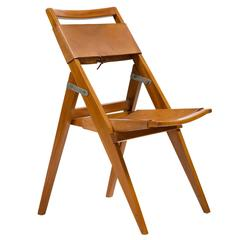 Folding Chair by Lina Bo Bardi, Brazil, 1950s