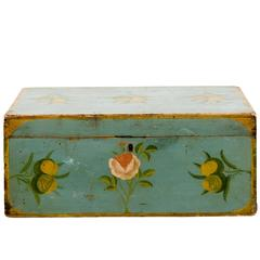 Painted American Folk Art Box