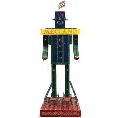 Meccano Robot Store Display Robot