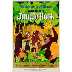 Jungle Book Original Film Poster, Disney, 1967