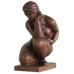 Kurt Harald Isenstein, 'Nude Seated Woman,' Sculpture