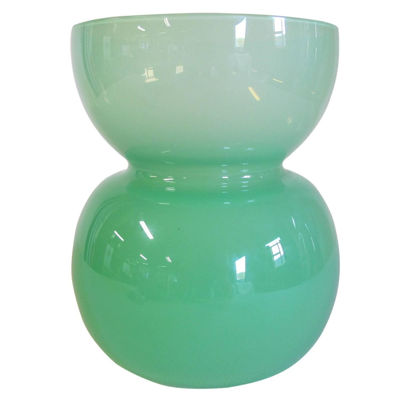 Green glass vase by jan van der vaart leerdam unica 95019 for green glass vase by jan van der vaart leerdam unica 95019 for sale at 1stdibs reviewsmspy
