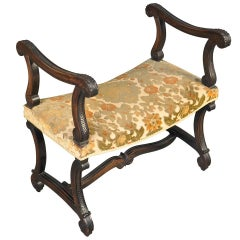 French 19th Century Louis XIV Style Banquette or Stool