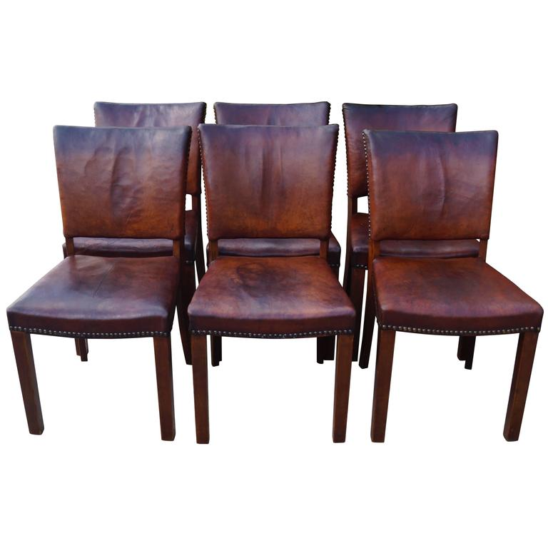 Dining Room Chairs Designed By Jacob Kjær, 1940s For Sale