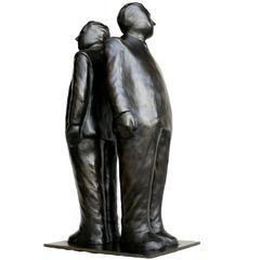 Decisions Decisions, Bronze Sculpture by Jim Rennert