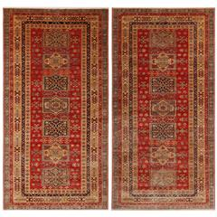 Pair of Very Fine Sherwan Rugs