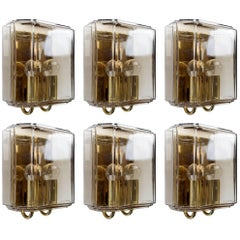 German Vintage Sconces Wall Lights, 1960s