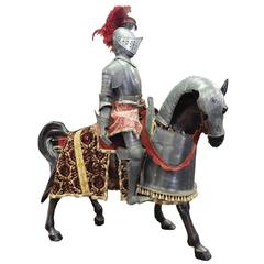 Knight and Horse Suits of Armor
