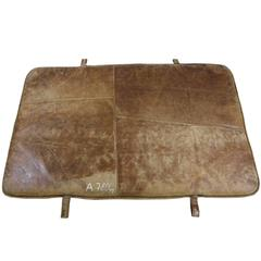 1920s Leather Gym Mat