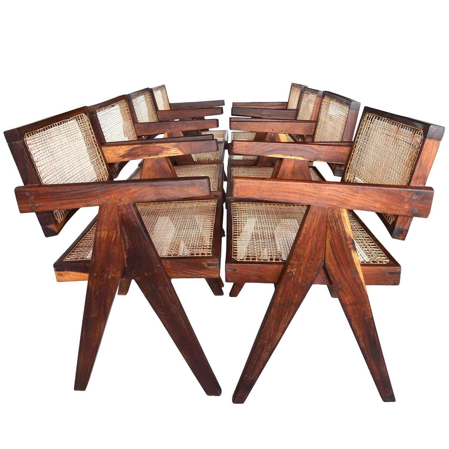 Pierre jeanneret furniture chairs sofas tables & more 106 for