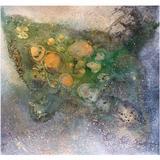 "Andre Brandao Abstract Painting ""Los Cayos"", Brazilian"