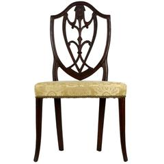 Exceptional American Federal Mahogany Side Chair, New York, circa 1790