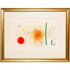 Joan Miró Partie De Campagne II, 1967