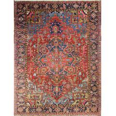 Spectacular Heriz, Karaja Carpet