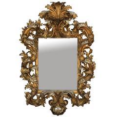 Magnificent Giltwood Florentine Mirror