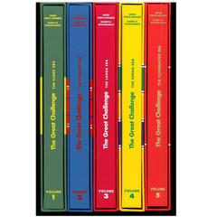 """The Great Challenge - Clark, Stewart, Lauda, Senna & Schumacher"" Books"