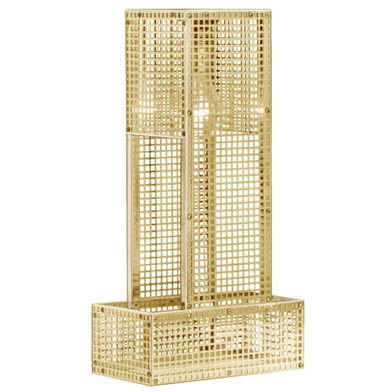 Puristic Josef Hoffmann & Wiener Werkstaette Table Lamp Re-Edition  For Sale