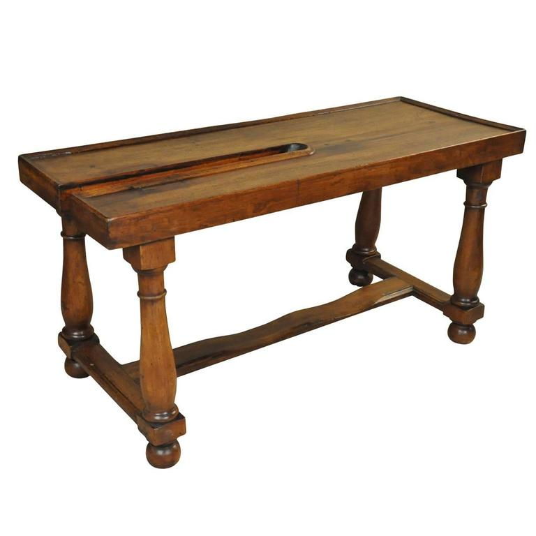 French 19th century work table console at 1stdibs for Table th visible