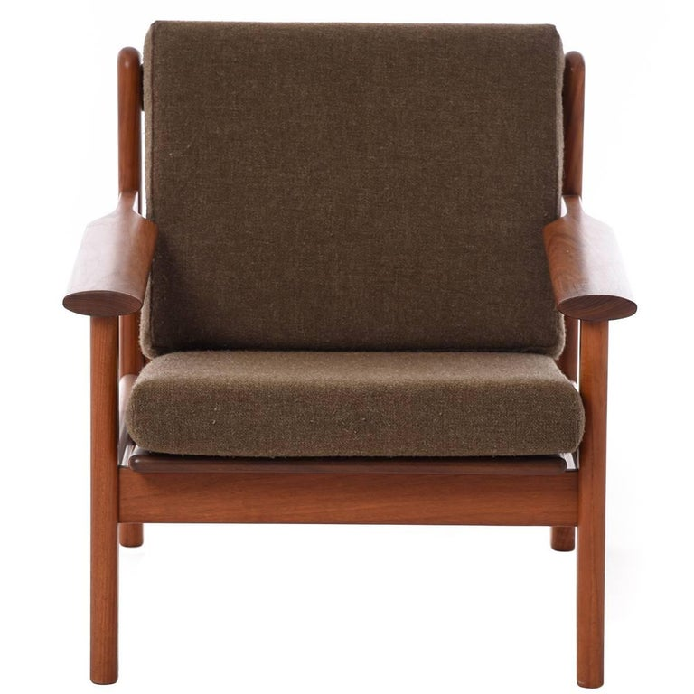 Danish Modern Volther Lounge Chair For Sale