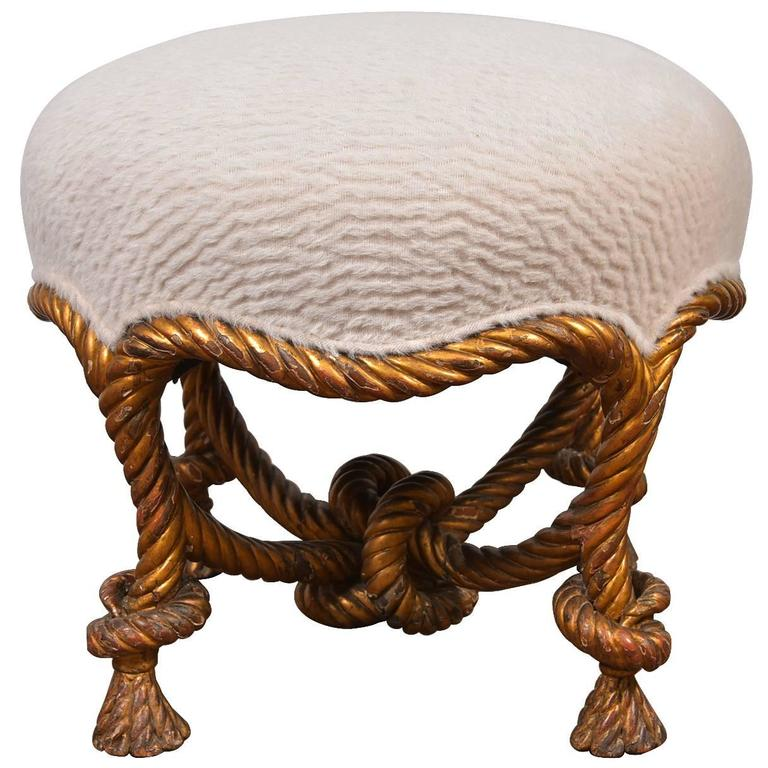 Fournier Rope Stool For Sale