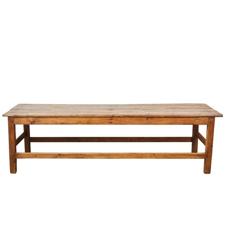 European Pine Coffee Table At 1stdibs