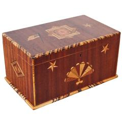 American Folk Art Keepsake Box