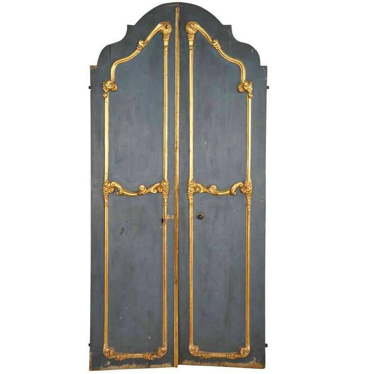 Sensational Pair of 18th Century Italian Doors