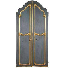 Sensational Pair of 18th Century Italian Doors