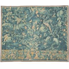 "Mid-16th Century ""Feuilles de Choux"" Tapestry"
