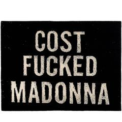 Street Art Rug by Cost 'Cost Madonna'