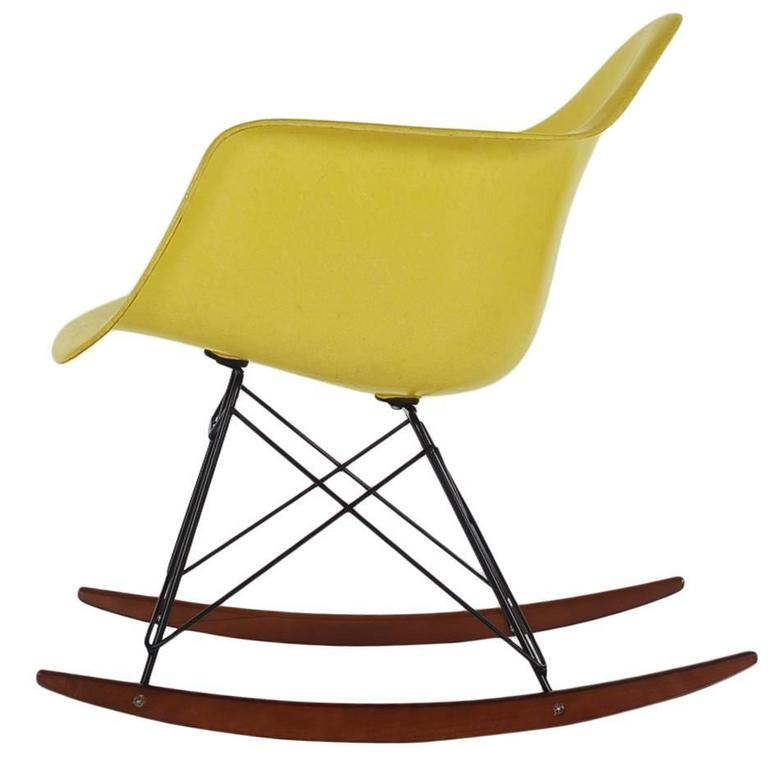 Mid Century Eames For Herman Miller Fiberglass Rocking