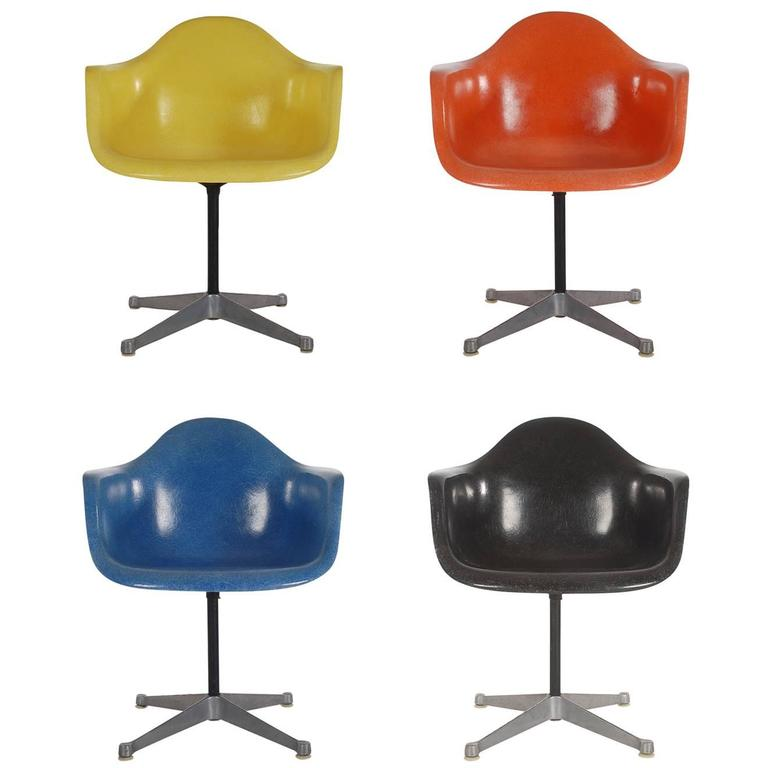 Herman Eames Mid Chairs Century Dining Fiberglass Miller For In F13TJulcK5