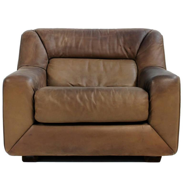 Gartensessel lounge  Vintage 1970s De Sede DS 43 Cognac Leather Lounge Chair with ...