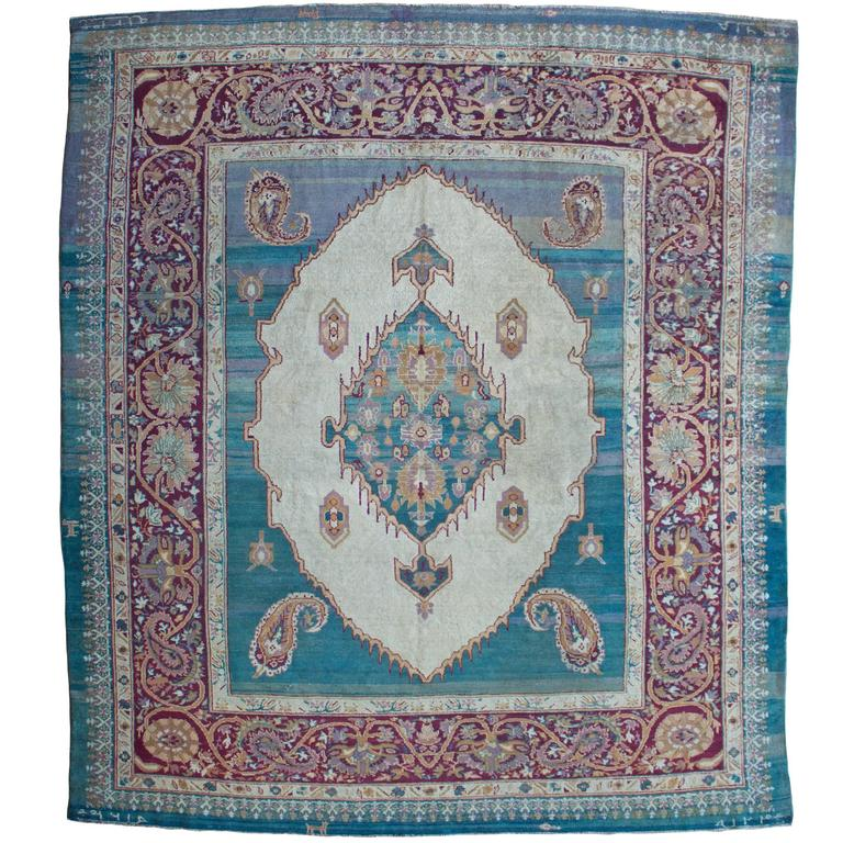 Antique Agra Carpet, India For Sale At 1stdibs