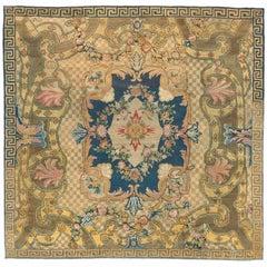 Mid-18th Century Pile French Aubusson Carpet