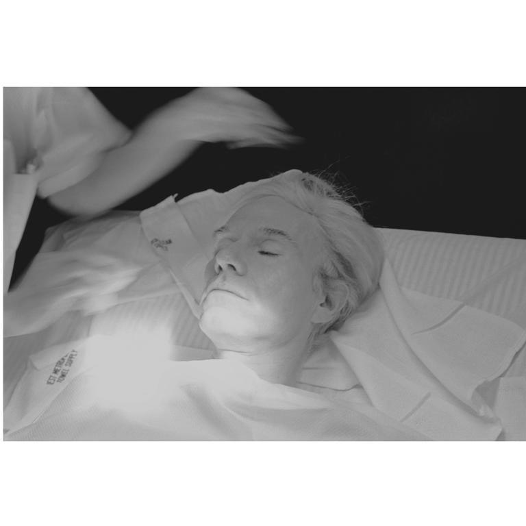 "Robert Levin, ""Andy Warhol Getting Facial Treatment, 1981"" Print, USA, 2015"