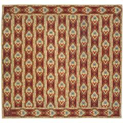 Mid-19th Century English Needlepoint Carpet