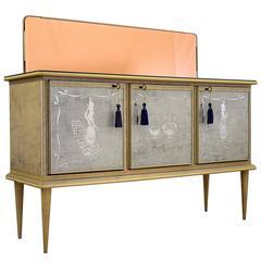 Umberto Mascagni 1950s Bar Cabinet