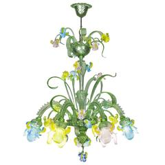 Cà Iris Murano Glass Chandelier