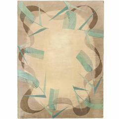 Marion Dorn English Art Deco Carpet 1930s