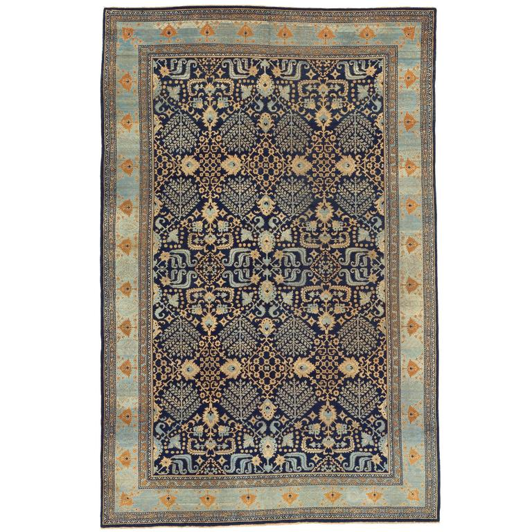 Early 20th Century Agra Carpet For Sale At 1stdibs