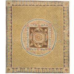 Late 18th Century Aubusson Carpet