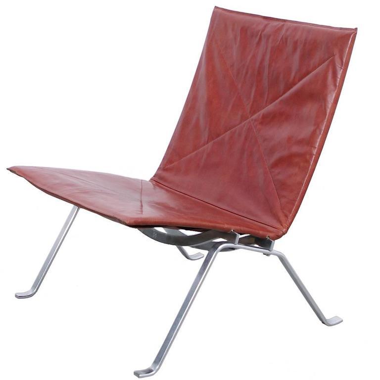 Poul Kjaerholm PK22 Lounge Chair for E Kold Christensen