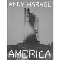 "Four Andy Warhol Books ""America"" ""Lenin"", ""The Factory Years"" ""David Bailey"""