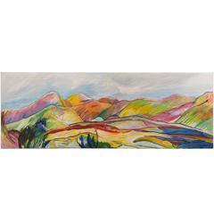"""Anysberg, Karoo,"" Original Oil on Canvas, Thelma Mort, Western Cape Province"