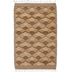 Mid-20th Century Swedish Flat-Weave Carpet