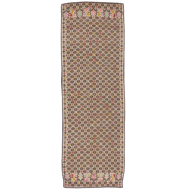 Late 19th Century Needlepoint Carpet