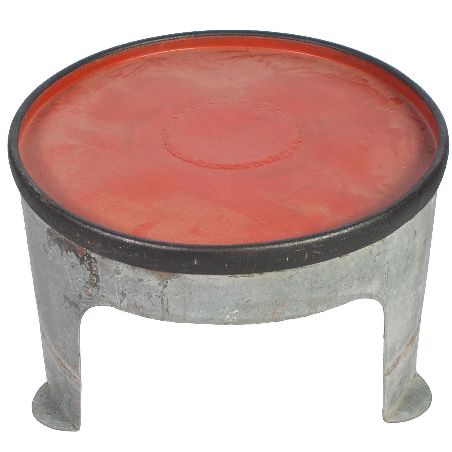 French Round Iron Coffee Table For Sale At 1stdibs