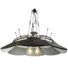 Large Scientific/Medical Parabolic Mirror Lamp