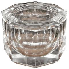 Italian Lucite Decorative Box or Ice Bucket in the Manner of Alessandro Albrizzi